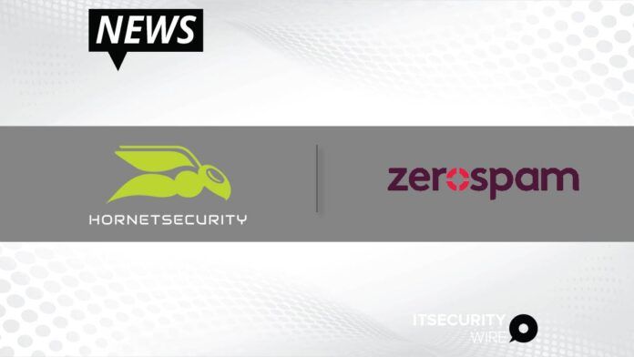 Hornetsecurity acquires Zerospam_ Canadian email security leader