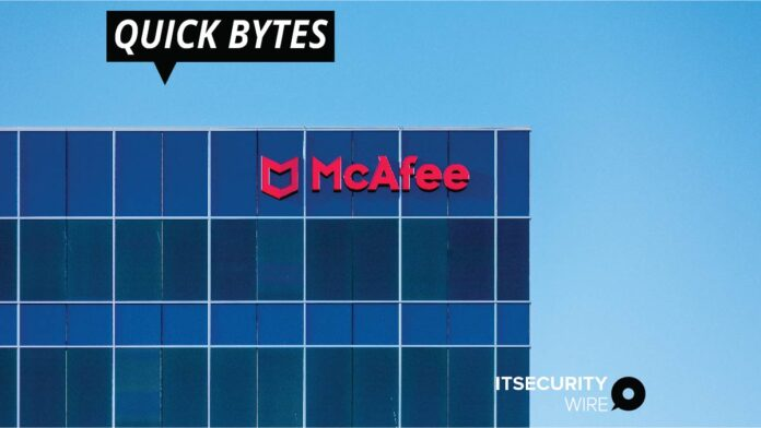 McAfee Auctions it's Enterprise Business for _4 billion to Focus on Consumer Security