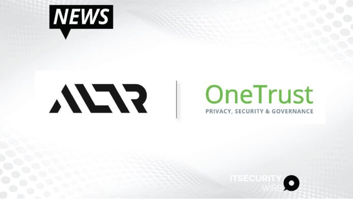 ALTR and OneTrust Announce Partnership to Enable Businesses to Identify and Mitigate Security and Privacy Risks to Data