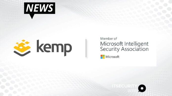 Kemp joins the Microsoft Intelligent Security Association