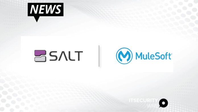 Salt Security Joins the MuleSoft Technology Partner Program_ Delivering API Security with Frictionless Integration
