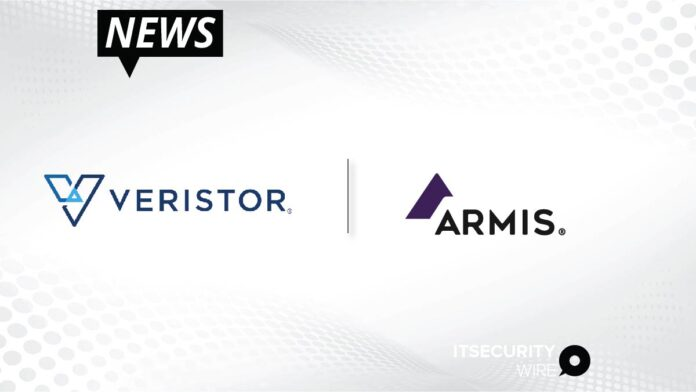 Veristor and Armis Partner to Provide Agentless Device Security for Diverse_ Managed and Unmanaged Devices-01