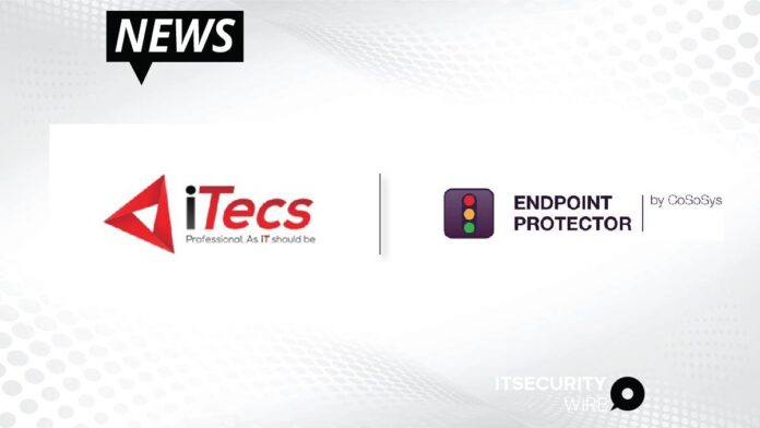 iTecs Enters Into A Reseller Partnership With CoSoSys