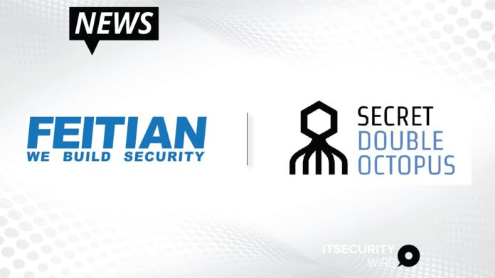 Feitian Technologies and Secret Double Octopus Partner to Extend the Reach of the Passwordless Workforce