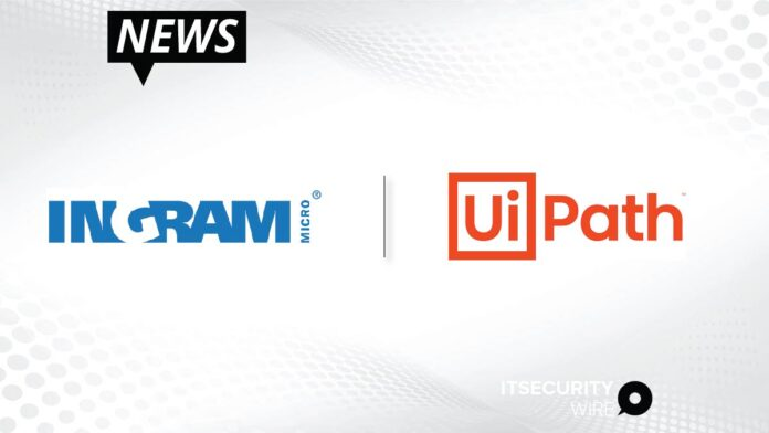Ingram Micro announces a global partnership with UiPath_ a leading enterprise automation software company