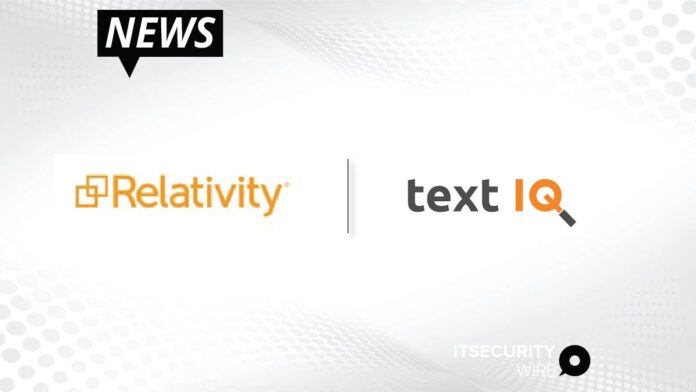 Relativity Acquires Text IQ to Drive Leadership in AI for e-Discovery_ Compliance and Privacy-01