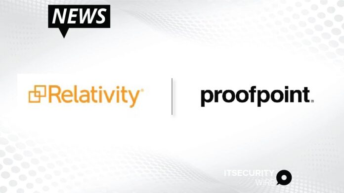 Relativity Trace and Proofpoint Partner to Deliver Seamless End-to-End Archive and Communication Surveillance Solution