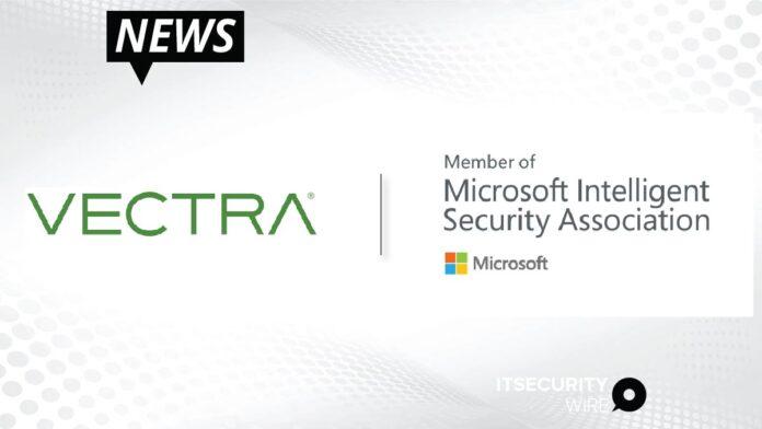 Vectra AI Joins Microsoft Intelligent Security Association (MISA)