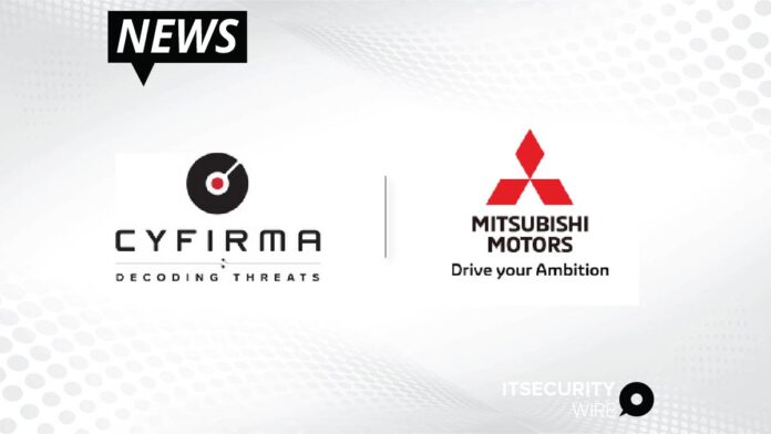 CYFIRMA Expands Mitsubishi Motors' Visibility On External Threat Landscape and Strengthens Its Cybersecurity Posture