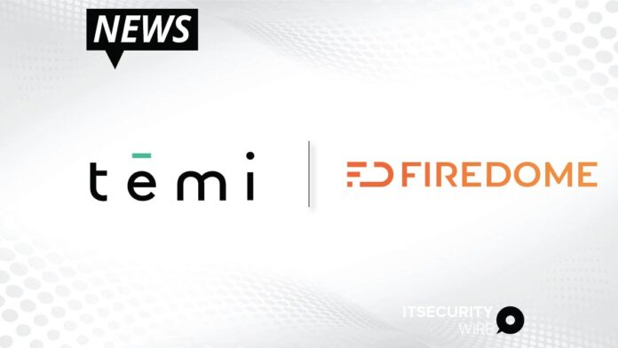 Temi Chooses Firedome's Proactive IoT Cybersecurity Platform to Secure Personal Connected Robots