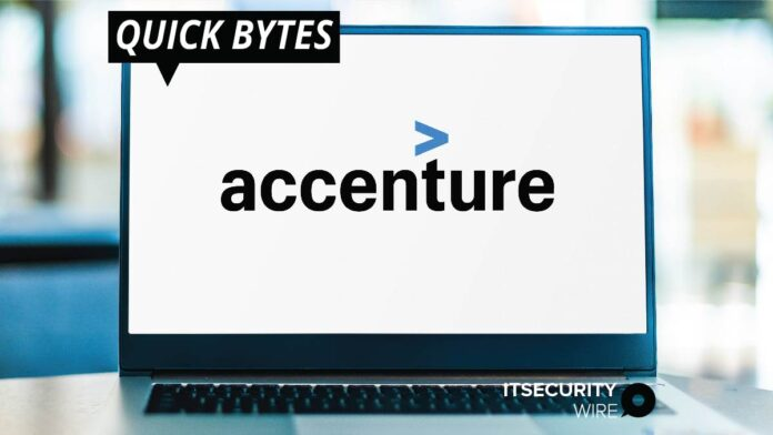 Accenture Acquires Cybersecurity Company Sentor