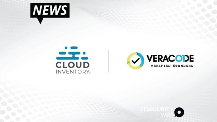 Cloud Inventory® Recognized for Excellent Security with Veracode Certification-01