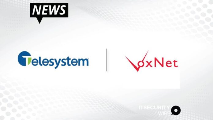 Telesystem to Acquire Managed Services Provider VoxNet-01