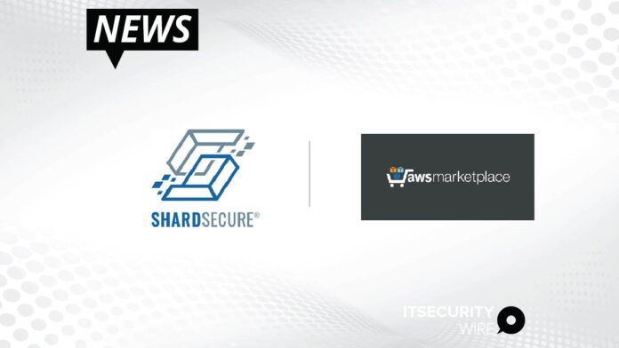 ShardSecure Now Available in AWS Marketplace