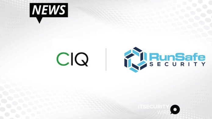 CIQ Forms Strategic Partnership with RunSafe Security - Leading Software Protection Program Now Built-In for Rocky Linux Users