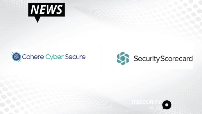 Cohere Cyber Secure and SecurityScorecard Partner to Improve Cybersecurity of Financial Sector-01