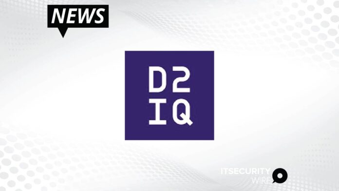D2iQ Unveils Version 2.0 of Kubernetes Platform to Power Applications Across Any Infrastructure