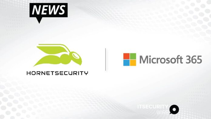 Hornetsecurity Launches Industry-First All-in-One Security and Backup Service for Microsoft 365