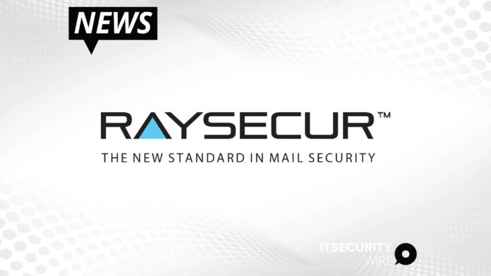 RaySecur Launches the MailSecur 500 High-Resolution mmWave Mail and Package Scanner for Demanding Security Imaging Applications