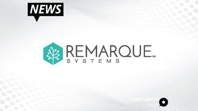 Remarque Systems Secures Industry's First Patent For Trail-Audited_ Real-Time_ Risk-Based Quality Management Platform