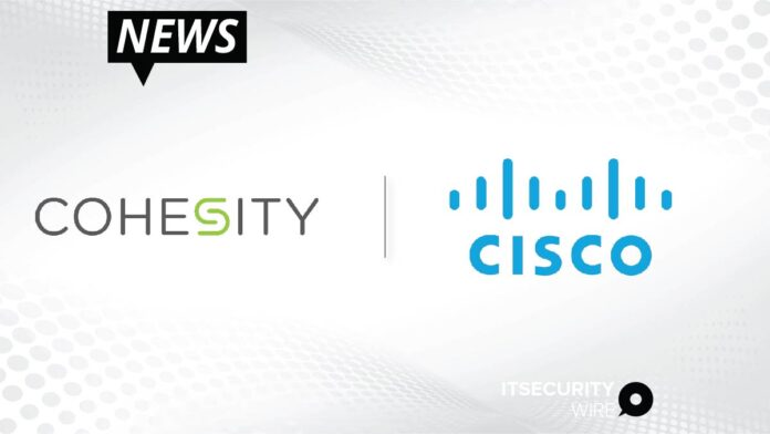 Cohesity Unveils First Data Protection Solution Integrated With Cisco SecureX to Give Companies New Ways to Fight Ransomware Attacks-01