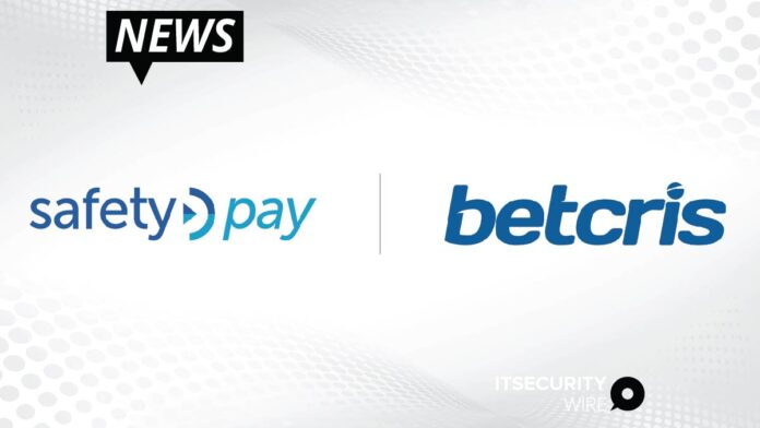 SafetyPay Provides Alternative Payment Method to Support Betcris' Growth-01