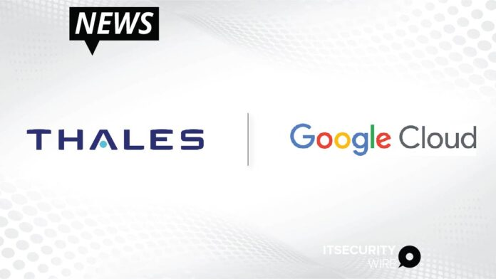 Thales and Google Cloud Announce Strategic Partnership in France-01